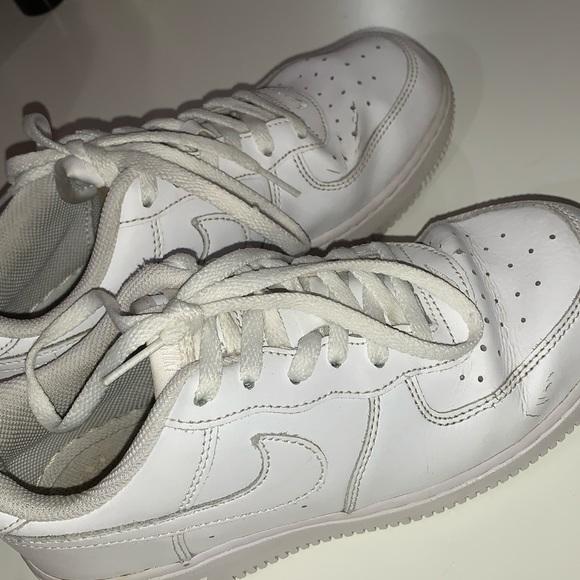 Nike Shoes | Juniors White Air Force 1